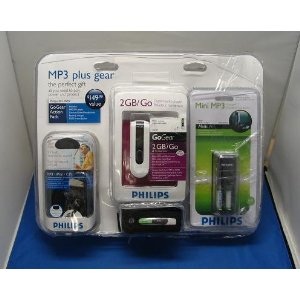 Digital Lifestyle Outfitters Philips Go Gear Action Pack
