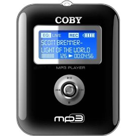 COBY MP-C641 MP3 Player with 256 MB Flash Memory