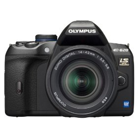 Olympus Evolt E620 12.3MP Live MOS Digital SLR Camera with Image Stabilization and 2.7 inch Swivel LCD w/ 14-42mm f/3.5-5.6 Zuiko Lens