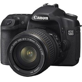 Canon EOS-50D 15.1MP Digital SLR Camera With EF-S 17-85mm f/4-5.6 Image Stabilized USM SLR Lens