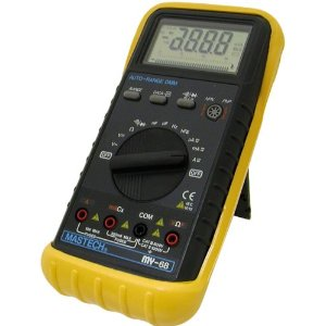 Mastech Auto-Ranging Digital Multimeter, MY68
