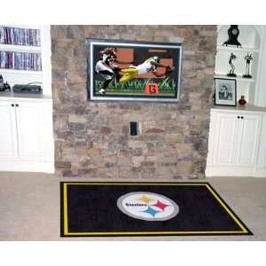 Fanmats 6319 Pittsburgh Steelers  5' x 8' Area Rug