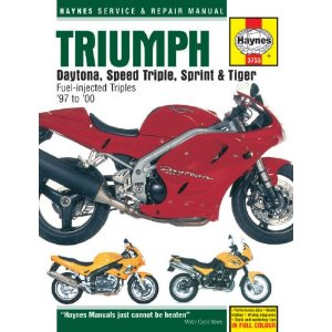 Haynes Triumph Daytona, Speed Triple, Sprint & Tiger Superbike (1997-2000)