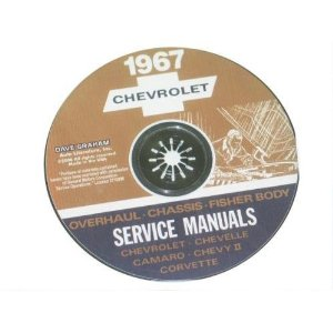 1967 Corvette Shop and Service Manual on CD