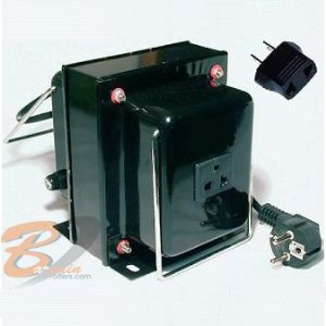 2000 w Watt Voltage Converter Transformer Step Up / Down