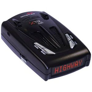 Whistler XTR-550 Laser/Radar Detector, Red Text Display with Voice