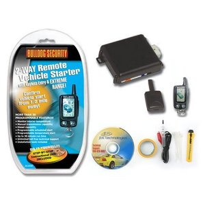 Bulldog Deluxe 500 Two-Way Remote Starter with LCD Remote