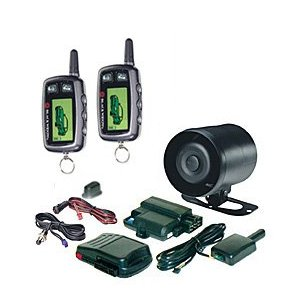 BLACK WIDOW Z5 FULL FEATURE ALARM w/REMOTE START & 2-2 WAY FM PAGES