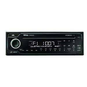 Boss 840UBI In-Dash Touchpanel CD/MP3 Receiver with Front Panel AUX Input, USB, SD Card, Bluetooth (Detachable Face)