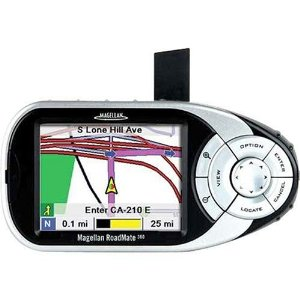 Remanufactured Magellan RoadMate 360 Vehicle GPS with Windshield Mount