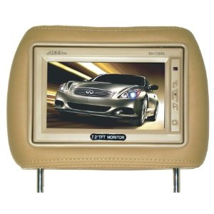 TKO Audio 7.2 .ONE PAIR OF TFT LCD MONITOR WITH PILLOW AVAILABLE IN BLACK, BEIGE AND GREY