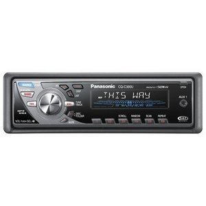 Panasonic CQ-C300U 50Wx4 iPod-Ready Multi-Format Car Audio Receiver