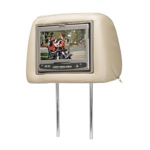 Audiovox Movies 2 Go MMD7HRPKG Replacement Headrests with Intergable Covers