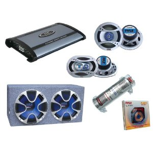 Pyle Complete Car Audio System Package for Car/truck/vehicle