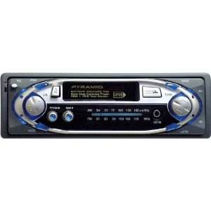 Pyramid - AM/FM Cassette Player w/Fully Detachable Face - 2700D