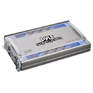 PYLE PLA4988 4 Channel 6000 Watts Bridgeable Mosfet Amplifier