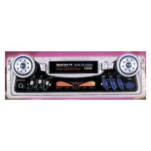 Auto-Reverse Car Cassette Player with AM/FM Radio w/ Equalizer