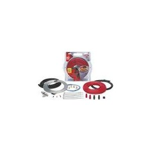 EFX 800-Watt Amp Wiring Kit 4-gauge power cable, with Patch Cord