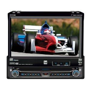 Dual XDVD8183N DVD Receiver with 7-Inch Touch Screen LCD, Built-In Bluetooth, and iPod Control(iPod Cable NOT included)