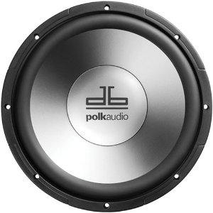 Polk Audio db1040DVC 10-Inch Dual Voice Coil Subwoofer (Single, Black)