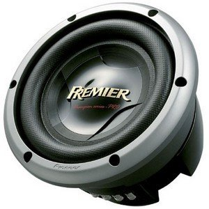 Pioneer TS-W2502D4 10 In. Champion Series PRO Subwoofer with 3000 Watts
