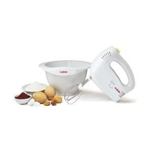 Hand Mixer with Bowl - Girmi - SB42 (White) (200 Watts)