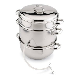 Back to Basics N12 Stainless Steel Juicer/Cooker Set