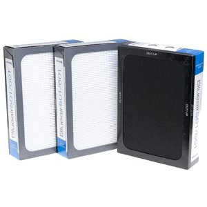 Blueair Smokestop Filter for Blueair 500/600 Series Air Purifiers, Set of 3