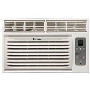Haier HWR08XC9 8000-BTU Window Air Conditioner with Remote Control