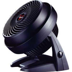 Vornado 630B 3 Speed Mid Size Air Circulator, Black