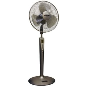 Soleus Air FS2-40R-32 16-Inch 3-Speed Oscillating Stand Fan with Remote Control