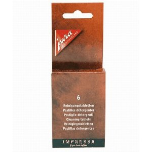 Jura-Capresso Cleaning Tablets for all Capresso and Jura-Capresso Automatic Coffee Centers, Pack of 6
