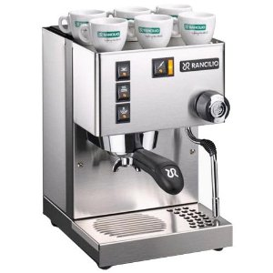 Rancilio Silvia Espresso Machine - New 2009 Model V3