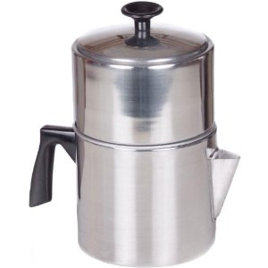 Aluminum Drip Coffee Maker - 7 Cup