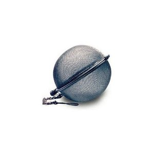 Tea Strainer, Infuser Double Mesh Ball, 2.5 Inches, Stainless Steel