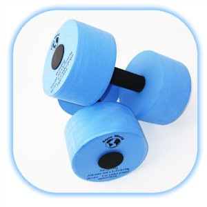 Water Barbells (1 Pair),(1 Barbell for each hand)