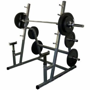 Valor Fitness BD-6 Safety Squat /Weight Bench Combo Rack 2BD0062BM