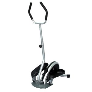 Sunny Health & Fitness Mini Elliptical Trainer with Handlebar