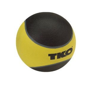 TKO 509RMB Rubberized Medicine Ball 10 lbs