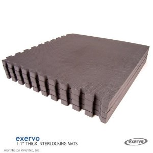 Exervo HD28 Premium EVA Foam Interlocking Mat Sets, 1.1
