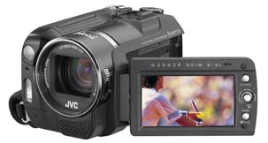 Jvc gzmg555 camcorder hard disk 5mp mpeg2 remote usb cable