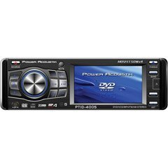 Power Acoustik Ptid-4005 3.6-Inch Widescreen In-Dash Monitor With Dvd & Am/Fm
