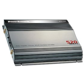 Power Acoustik PS2-520 520W 2 Channel Power Amplifier