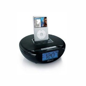 Memorex Mi2001 - Clock radio with iPod cradle