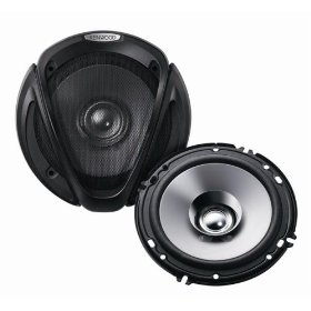 Kenwood KFC-1652S 6.5-Inch 160 Watt Max Power Dual Cone Speaker System