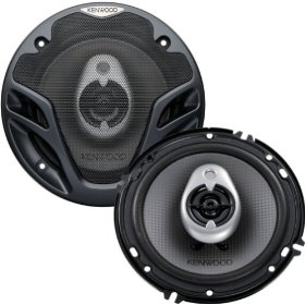 Kenwood KFC-1682IE 6.5-Inch 240-Watt Max Power Three-Way Speaker System