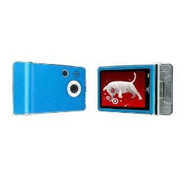 Sly Electronics 4 GB Video MP3 Player with 2.4-Inch LCD and 5MP Camera (Blue)