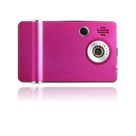 Ematic 4GB Video MP3 Player with 2.4-Inch QVGA Screen, Digital Camera and Video Recorder (Pink)