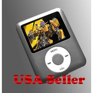 MP3 8GB Video Media Player with 1.8