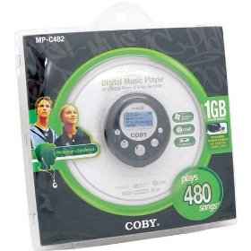 Coby 1GB Flash MP3 Player